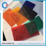 돋을새김된 다이아몬드 단단한 폴리탄산염 장 Policarbonato Solido