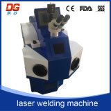 Brede Gebruikte 100W bouwstijl-in het Lassen van de Vlek van de Machine van het Lassen van de Laser van Juwelen