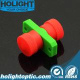Plastic APC van de Adapter FC Simplex met Groene Flens,