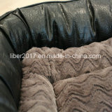 مصنع [أم] رف جلد محبوبة أريكة [بب] كلب قطع [سفا بد] منتوجات