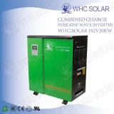 weg vom Rasterfeld PV-Solarzellen-Inverter mit Aufladeeinheit 192V 20kw