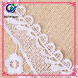 뜨개질을 한 아프리카 신부 꽃 패턴 Organza 레이스