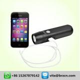 Chargeur et lampe-torche mobiles de dynamo d'USB