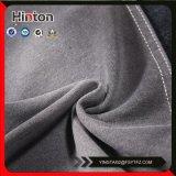 Tessuto nero del denim del cappotto di Lycra di colore