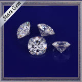 Hot Sale 9X9mm Coussin Forme Big Size Blanc Synthétique Moissanite Diamond