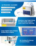 calefator ultra-sônico inoxidável do líquido de limpeza do temporizador 220W de Digitas do aço 3L