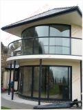 Insonorizadas curvo de aluminio puerta corrediza (BHA-DSA03)