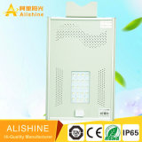 Indicatore luminoso di via solare esterno di obbligazione LED di illuminazione con il mono comitato solare