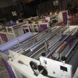 Not Horizontal Woven and Vertical Cutting Machine with Ultrasonic Welding