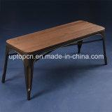 Металл классического ретро типа деревянный обедая стенд Tolix будочки для кафа (SP-MC079)