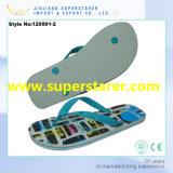 Impression de transfert thermique de bascules électroniques de PE de chaussures de femmes