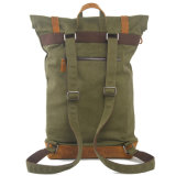 Contraste Couleur Attaché Pocket Canvas Bag Camping (RS-104)