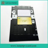Bandeja de tarjeta del PVC para la impresora de Epson A50