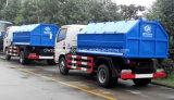 5 tonnes de 4X2 de traction de bras de bras du camion 5m3 tombent le camion d'ordures à vendre