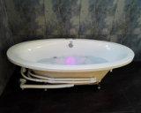 Rundes Art-Badezimmer Flushbonading tränkende Badewanne (324)