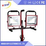luz recarregável portátil do trabalho 2*30W, luz destacável do trabalho do diodo emissor de luz 60W
