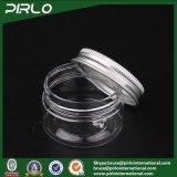 20g de transparante Plastic Container van het Masker van de Room van de Zorg van de Huid van de Kruik van het Huisdier Plastic Gezichts met Plastic Kruik van de Room van het Deksel van het Aluminium de Kosmetische