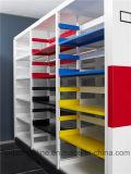 Подвижной шкаф для картотеки металла с ручкой формы u алюминиевой