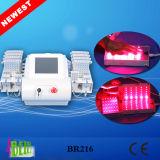 """Laser japonés profesional del laser 4D Lipo de los diodos de """"mitsubishi"""" de la marca de fábrica que adelgaza la máquina que adelgaza rápida de Lipolaser"""