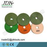 Jdk 최신 판매 다이아몬드 대리석 화강암을%s 유연한 건조하거나 젖은 닦는 패드