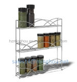 Шкаф специи Countertop 3-Tier кухни устроителя шкафа специи металла