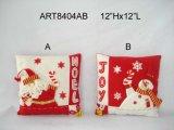 Санта и украшение Pillow-2assorted рождества снеговика