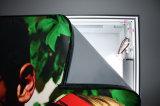 Visualizzazione di parete ultra sottile della casella chiara del tessuto LED Frameless di tensionamento di Seg