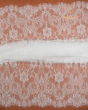 Tissu sexy en nylon floral de lacet