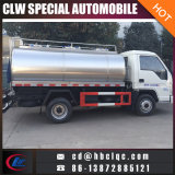 Camion-citerne aspirateur frais de lait de camion de réservoir de transport de lait de Forland 5ton
