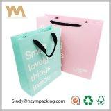 Baby-Weißbuch-kundenspezifische Kleidungs-rosafarbener verpackenbeutel-Großverkauf