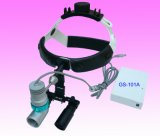 Loupes Binocular Dental cirúrgica 4X COM FARÓIS LED