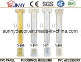 PU de alta calidad de poliuretano Corona de mármol Roma Columnas