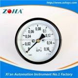 Manómetro general axial con diámetro de 4 pulgadas