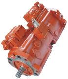 部品が付いているK3V油圧ポンプ