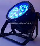 1 LED 방수 동위 단계 점화에 대하여 18*15 RGBWA UV 6