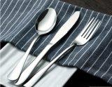 Vaisselle de cuisine réglée d'acier inoxydable de cuillère de fourche de couteau