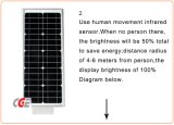 hohe Leistung 300W energiesparendes Dimmable LED Solarstraßenlaterne-Gehäuse