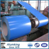 3003 1100 de Kleur Met een laag bedekte Rol van het Blad van het Aluminium