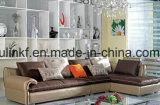 Sofá de cuero de los muebles 1+2+3 caseros modernos superventas (UL-NSC185)