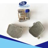 Sandblast-orthodontisches Metall markiert die zahnmedizinischen flachen zahnmedizinischen Halter