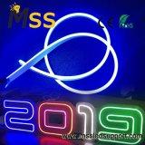 Mini neon della flessione LED del silicone 12V dell'indicatore luminoso al neon 6X13mm per il segno al neon