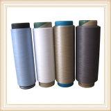 Casa de poliéster hilado textil