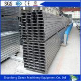Construções prefabricadas de aço da secção C terça do telhado para sistema de Estrutura de aço leve