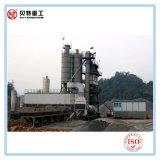 Centrale de malaxage d'asphalte de protection de l'environnement de 80 t/h avec l'émission inférieure à faible bruit