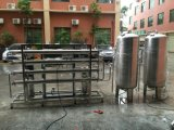 Équipement de traitement de l'eau à l'osmose inverse de certification CE