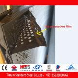 Ss304 Перфорированный лист из нержавеющей стали 4 мм 6 мм отверстие