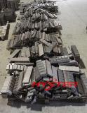 Barres blanches de Chocky de fer de chrome élevé pour la protection d'usure de position d'excavatrice