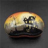 Halloweenの印刷のブリキボックスか錫の容器(B001-V23)