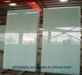 Het aangemaakte Ceramische Glas Backsplash van de Kleur