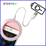 USB 재충전용 LED 충분한 양 Selfie 반지 빛